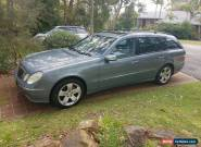 ONLY 124kms Mercedes Benz E350 Wagon 7 Seven Seats 2005 for Sale