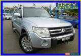 Classic 2007 Mitsubishi Pajero NS Exceed LWB (4x4) Silver Automatic 5sp A Wagon for Sale