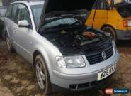 2000 VOLKSWAGEN PASSAT V6 TDI AUTO SILVER for Sale