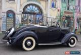 Classic 1936 Ford Deluxe Roadster - factory right hand drive for Sale