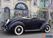 1936 Ford Deluxe Roadster - factory right hand drive for Sale