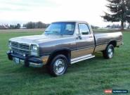 1991 Dodge Other Pickups Base Standard Cab Pickup 2-Door for Sale