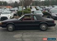 1983 Ford Mustang GLX Convertible 2-Door for Sale