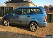 2001 FORD FOCUS LX TD DI BLUE for Sale