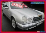 1996 Mercedes-Benz E320 W210 Elegance Silver Automatic 5sp A Sedan for Sale