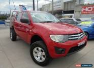 2010 Mitsubishi Triton MN MY11 GLX Red Automatic 4sp A 4D Utility for Sale