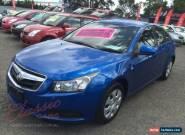 2009 Holden Cruze JG CD Blue Automatic 6sp A Sedan for Sale