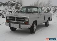 1989 Dodge Ram 2500 D250 W250 for Sale