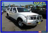 Classic 2006 Nissan Navara D40 ST-X (4x2) White Automatic 5sp A Dual Cab Pick-up for Sale