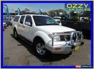 2006 Nissan Navara D40 ST-X (4x2) White Automatic 5sp A Dual Cab Pick-up for Sale
