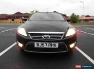2007 FORD MONDEO GHIA TDCI 140 BLACK for Sale