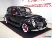 1940 Ford Sedan 2 Door Sedan for Sale