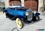 Classic 1931 Chevrolet Other 2 Door Cabriolet for Sale