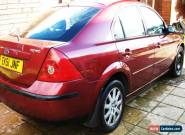 Ford Mondeo Zetec 1.8 5 dr burgundy red car 2002 for Sale