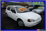 Classic 1997 Toyota Starlet EP91R Life White Manual 5sp M Hatchback for Sale