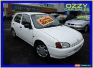 1997 Toyota Starlet EP91R Life White Manual 5sp M Hatchback for Sale