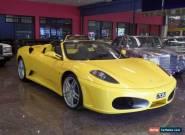 2006 Ferrari F430 Spider Giallo Modena Manual 6sp M Convertible for Sale
