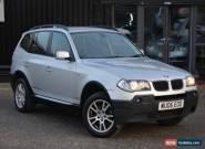 2006 BMW X3 2.0d 2.0 Diesel SE Manual 4X4 *HPI Clear + Jan2018 MOT* for Sale
