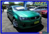 Classic 2010 Holden Commodore VE MY10 SV6 Green Manual 6sp Manual Sedan for Sale