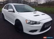 2009 MITSUBISHI LANCER RALLIART GSR S-A WHITE for Sale