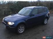 2006 BMW X3 D SE BLUE for Sale