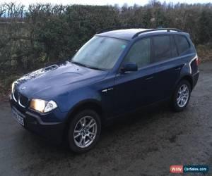 Classic 2006 BMW X3 D SE BLUE for Sale