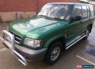 1999 HOLDEN JACKAROO U8 50th YEAR, AUTO 4WD,  MAY'17 REGO , COMES WITH RWC for Sale