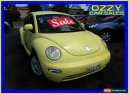 2000 Volkswagen Beetle 9C 2.0 Yellow Automatic 4sp A Hatchback for Sale