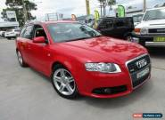 2007 Audi A4 B7 S Line Red Automatic A Wagon for Sale