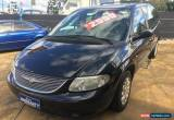 Classic 2002 Chrysler Voyager RG SE Black Automatic 4sp A Wagon for Sale