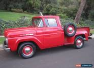 1960 Ford F-100 2 door pickup  for Sale