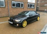 2006 BMW 320CD M SPORT CONVERTIBLE BLACK for Sale