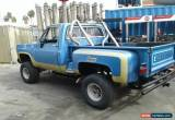 Classic 1979 Chevrolet Other Pickups for Sale