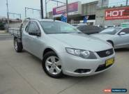 2008 Ford Falcon FG Silver Manual 6sp M 2D Cab Chassis for Sale