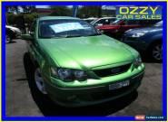 2004 Ford Falcon BA MkII XR6 Envy Automatic 4sp A Sedan for Sale