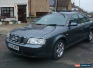 2002 AUDI A6 2.4 SE CVT GREY spares or repairs for Sale