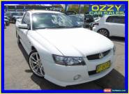 2005 Holden Commodore VZ SS White Automatic 4sp A Utility for Sale