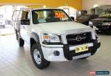 Classic 2007 Mazda BT-50 B3000 DX+ White Manual 5sp M Cab Chassis for Sale