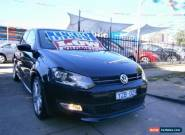 2012 Volkswagen Polo 6R MY12 66 TDI Comfortline Black Automatic 7sp A Hatchback for Sale
