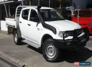 2011 Mitsubishi Triton MN MY12 GLX (4x4) White Manual 5sp M Dual Cab Utility for Sale