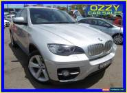 2011 BMW X6 E71 MY11 xDrive 40D Silver Automatic 8sp A Coupe for Sale
