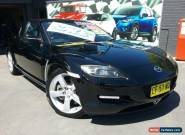 2003 Mazda RX-8 Black Manual 6sp M Coupe for Sale