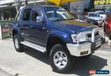Classic 2004 Toyota Hilux VZN167R SR5 (4x4) Blue Manual 5sp M Dual Cab Pick-up for Sale