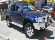 2004 Toyota Hilux VZN167R SR5 (4x4) Blue Manual 5sp M Dual Cab Pick-up for Sale