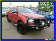 2015 Ford Ranger PX MkII Wildtrak 3.2 (4x4) Orange Automatic 6sp A for Sale