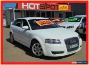 2008 Audi A3 8P E White Manual 5sp M Hatchback for Sale
