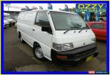 Classic 2011 Mitsubishi Express SJ MY11 SWB White Manual 5sp M Van for Sale