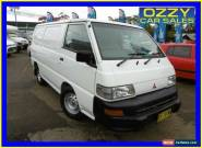 2011 Mitsubishi Express SJ MY11 SWB White Manual 5sp M Van for Sale
