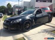 2013 Holden Ute VF SV6 Black Manual 6sp M Utility for Sale