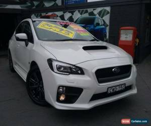 Classic 2014 Subaru WRX MY15 (AWD) White Automatic 8sp A Sedan for Sale